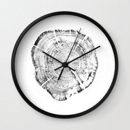 Tree Ring Year Wall Clock