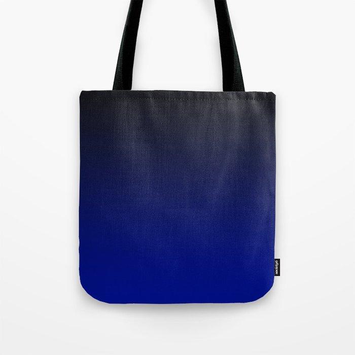 Cobalt blue Ombre Tote Bag