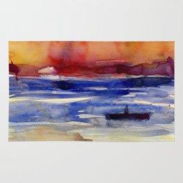 Sunset at Key West Rug
