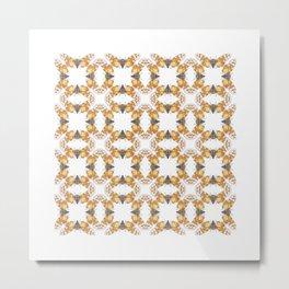 Cicada Pattern Metal Print