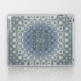 midnight blue butterfly kaleidoskope Laptop & iPad Skin