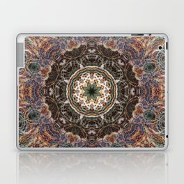 Mandala with ammonites Laptop & iPad Skin