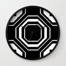 Intersect Wall Clock