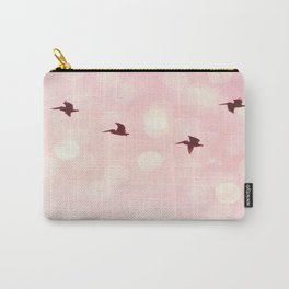 Pelicans Flying Carry-All Pouch