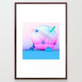 Inflatable Candy Framed Art Print