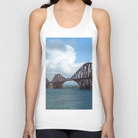 scotland Tank Tops featuring Forth Bridge, Scotland by Phil Smyth