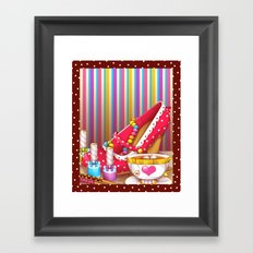 Tea Lovely Framed Art Print