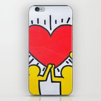 keith haring iPhone & iPod Skins featuring Keith Haring by Et Voilà