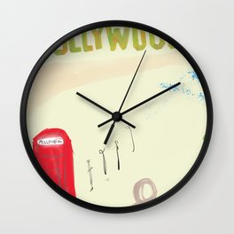Girl From Home Wall Clock