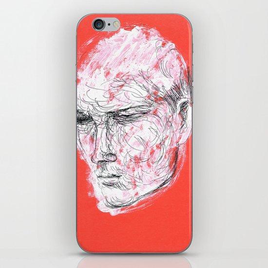 Dmitriy's head iPhone & iPod Skin