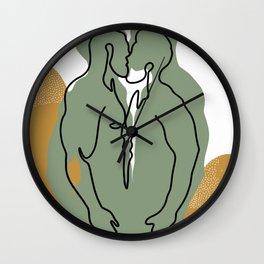NOODDOOD Lines 10 Wall Clock