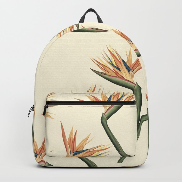 Birds of Paradise Flowers Backpack