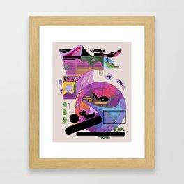 uitztztz Framed Art Print