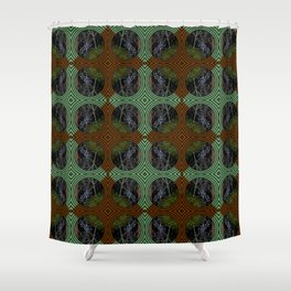Nature Portals Pattern Shower Curtain