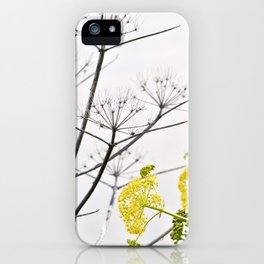WILDFLOWERS of Sicily iPhone Case
