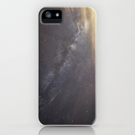 Shooting stars and the Milkyway iPhone Case