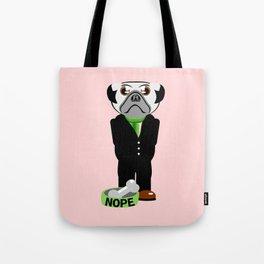 Pug Nope Tote Bag