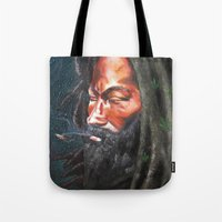 rasta Tote Bags featuring Rasta by Bocese