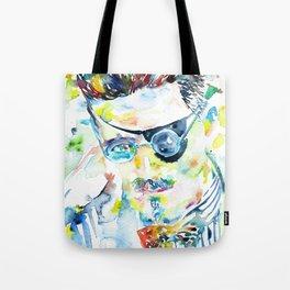 JAMES JOYCE - watercolor portrait.5 Tote Bag
