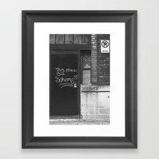 scheme Framed Art Print