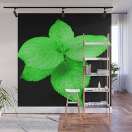 Glow In The Dark Leaves Wall Mural