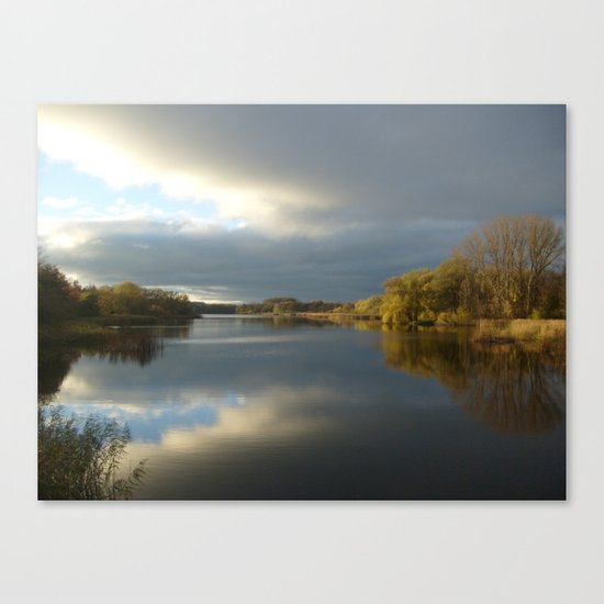 View   on the Lake Canvas Print