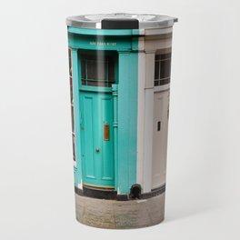 Portobello Road Shops Travel Mug