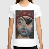 pirate T-shirts featuring Pirate by Fine2art
