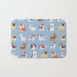 ENGLISH DOGS Bath Mat