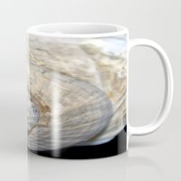 shell Mugs featuring Shell by Brian Raggatt