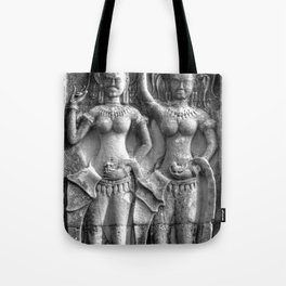 Cambodian Erotic Goddesses Tote Bag