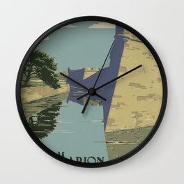 Fort Marion Wall Clock