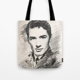 Gregory Peck, Hollywood Legend Tote Bag