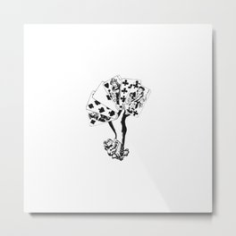 Full House Metal Print