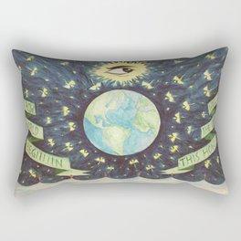 3rd Planet Rectangular Pillow