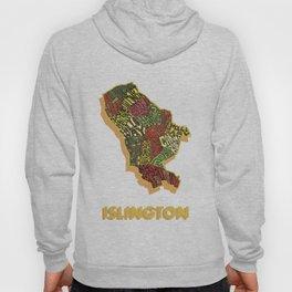 Islington - London Borough - Colour Hoody