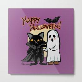 Halloween with you Metal Print