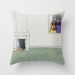The Monster Series (3/8) Throw Pillow