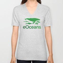 eOceans - green Unisex V-Neck