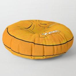 soul eater symbol- excalibur face Floor Pillow