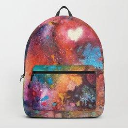 Rainbow Nebula (Love is Creation) Backpack