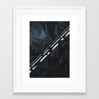 milky way Framed Art Prints featuring Milky Way by Elvijs Pūce