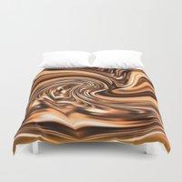 copper Duvet Covers featuring Copper Twist by Chris' Landscape Images & Designs