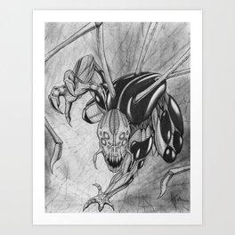 The Spider Man Art Print