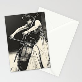 violoncello Stationery Cards