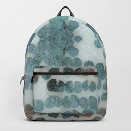 Sea Shell Disco Turquoise Backpack