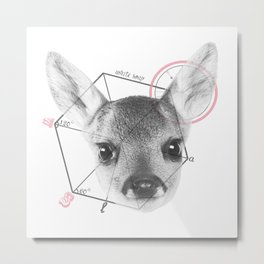 Dear Deer Metal Print