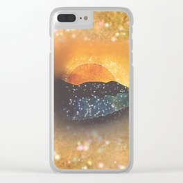 mountain 93 Clear iPhone Case