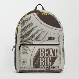 Vintage Poster - Beat Big Business, Vote Communist (1975) Backpack