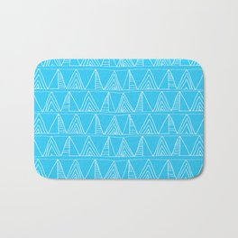Triangles- Simple Triangle Pattern for hot summer days - Mix & Match Bath Mat